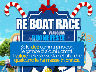 Tanti auguri di Buone Feste dalla Re Boat Race